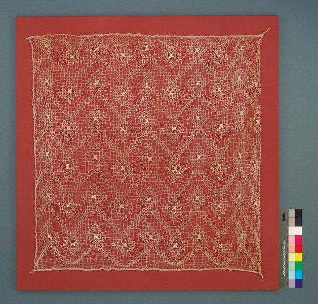 Peruanisches Textil nach der Restaurierung